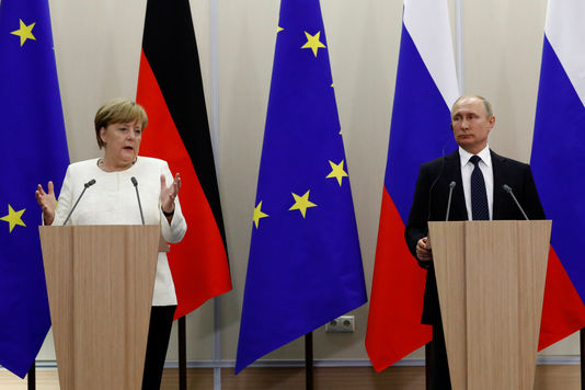 ALLEMAGNE RUSSIE 5301552_7_8210_russian-president-vladimir-putin-and-german_dc4b0504f995de6b7fac545962864587