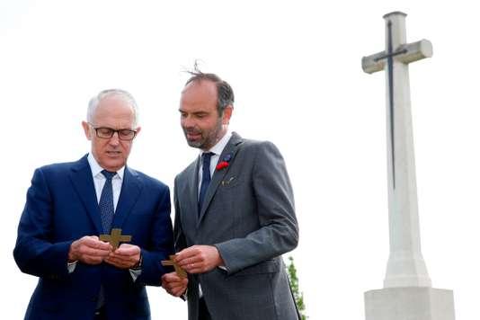 FRANCE-AUSTRALIA-HISTORY-POLITICS-DIPLOMACY-ANZAC-WWI
