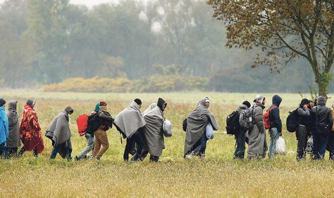 BALKANS MIGRATIONS izbjeglice Ronald Goršić HANZA MEDIA