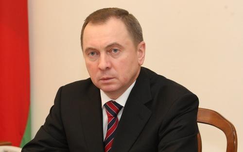 BELARUS Le ministre des Affaires étrangères du Bélarus Vladimir Makeï www.mfa_.gov_.by__122