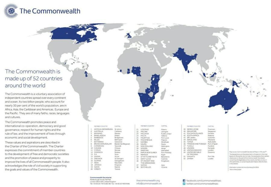 « Commonwealth of Nations », regroupant 54 pays loadimg.php