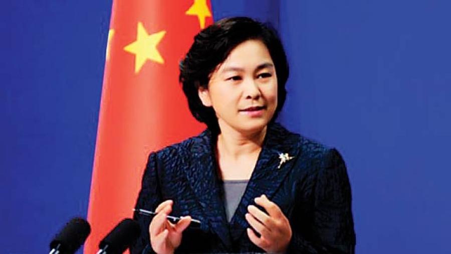 chine Hua Chunying, née en avril 1970 à Huai'an, est une femme politique chinoise china-1495203898