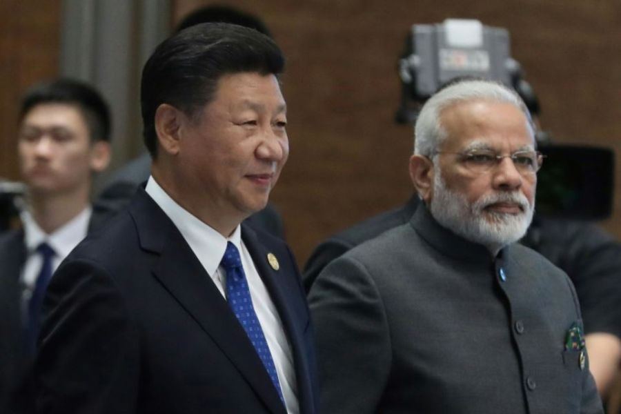 chine inde 1117098-xi-and-modi-are-seeking-to-mend-their-relationship-after-a-territorial-dispute-between-china-and-ind