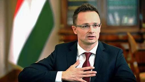 HONGRIE Ministre hongrois des Affaires Étrangères Péter Szijjártó media_xll_8940923