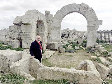 LIBAN Passionné d_histoire et de culture, Ghassan Shami se dit «chrétien» chami04