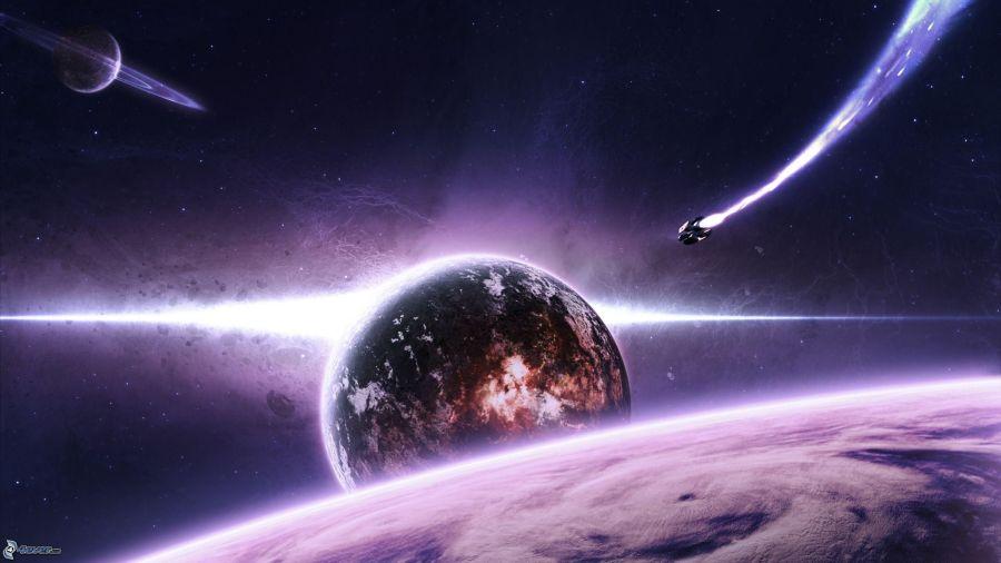 planete-terre,-saturn,-vaisseau-spatial-227639