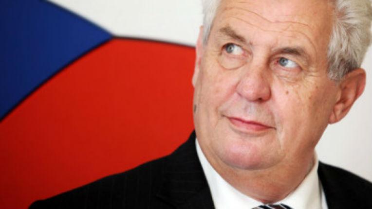 république tchèque président-tchèque-Milos-Zeman