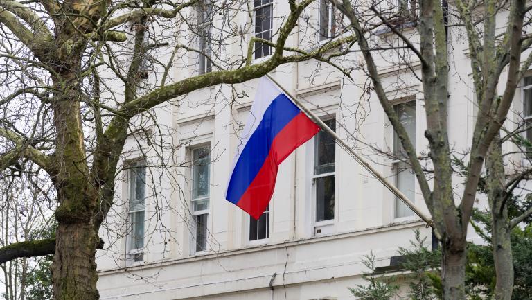 RUSSIE AMBASSADE A LONDRE 14587688