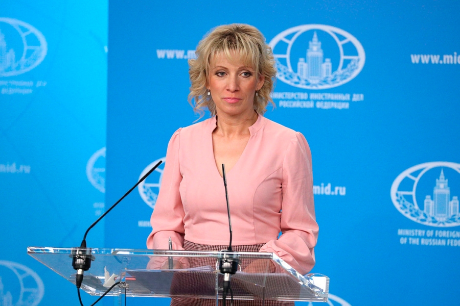 RUSSIE MARIA ZAKHAROVA БрифингМВЗахаровой