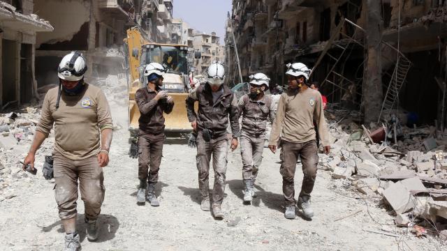 SYRIE ALEP qui-sont-les-casques-blancs-de-syrie