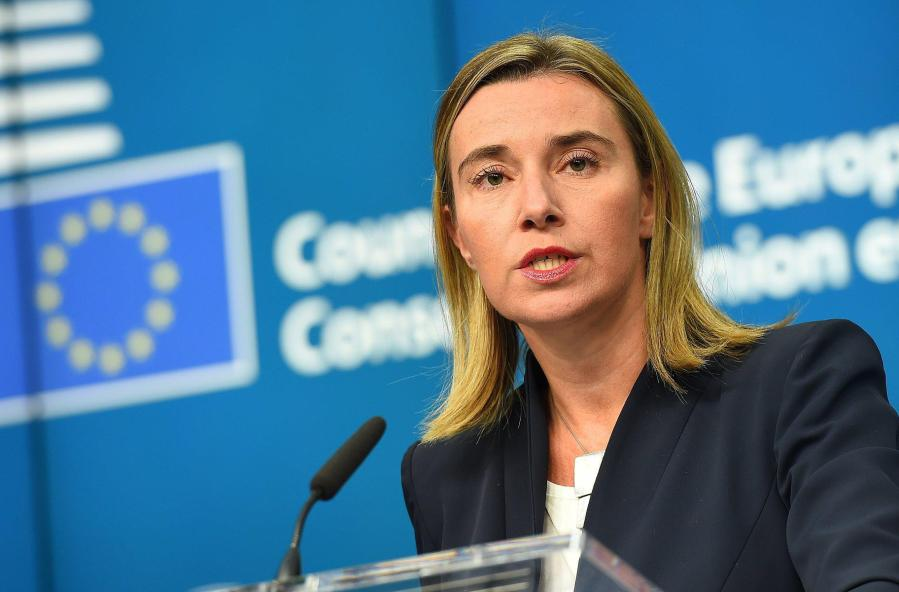 ue Federica Mogherini AFFAIRES ETRANGERES moghe