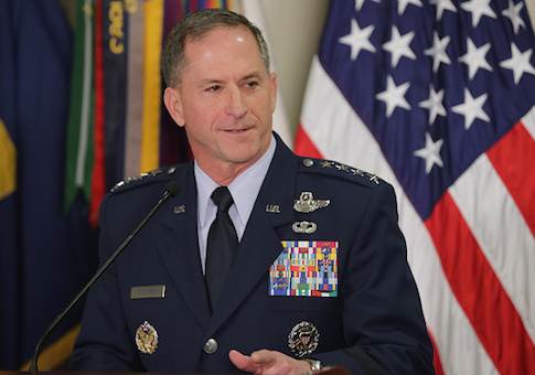 Secretary Of Defense Carter Announces Nomination of Gen. David Goldfein For Next Air Force Chief of Staff