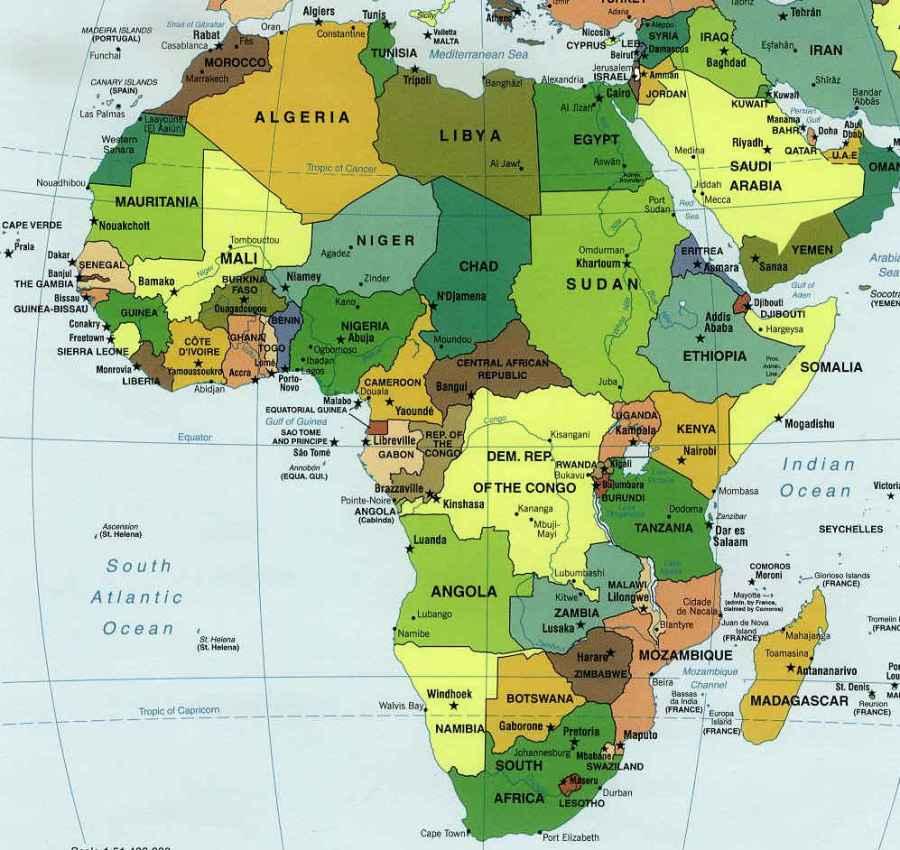 Afrique 2016.11.03 carte-afrique