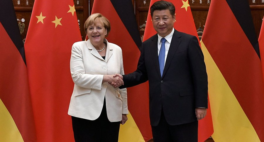 ALLEMAGNE CHINE 2018 1036499361