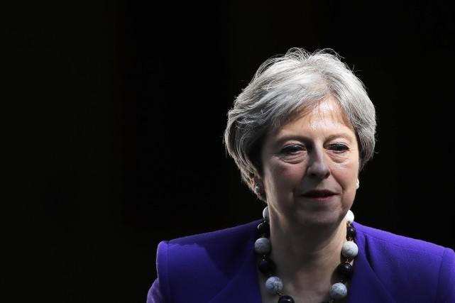 ANGLETERRE 1528680-premiere-ministre-britannique-theresa-may