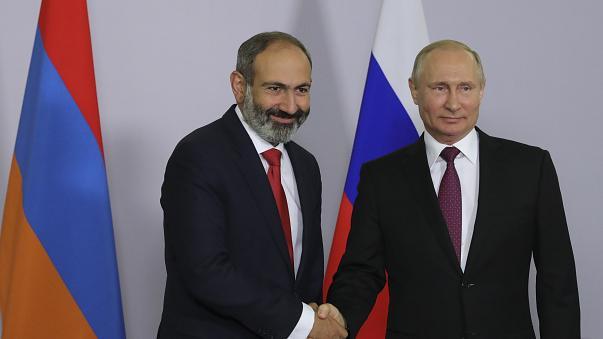 Arménie le Premier Ministre arménien Nikol Pachinian & Poutine 603x339_cmsv2_d17bd334-75be-512e-9f8b-e2e4c157974d-3153496