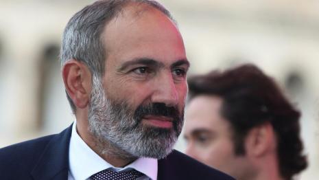 armenie Le nouveau Premier ministre arménien, Nikol Pachinian le 8 mai 2018 2018-05-08t120756z_961322845_rc1a3ae50590_rtrmadp_3_armenia-politics-prime-minister_0