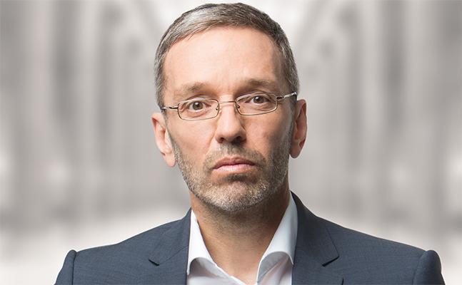 AUTRICHE FPÖ-Innenminister Herbert Kickl kündigt an, die Grenzkontrollen auch nach dem 11. Mai kickl_herbert_647x400