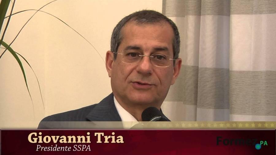 Italie Giovanni Tria, tria