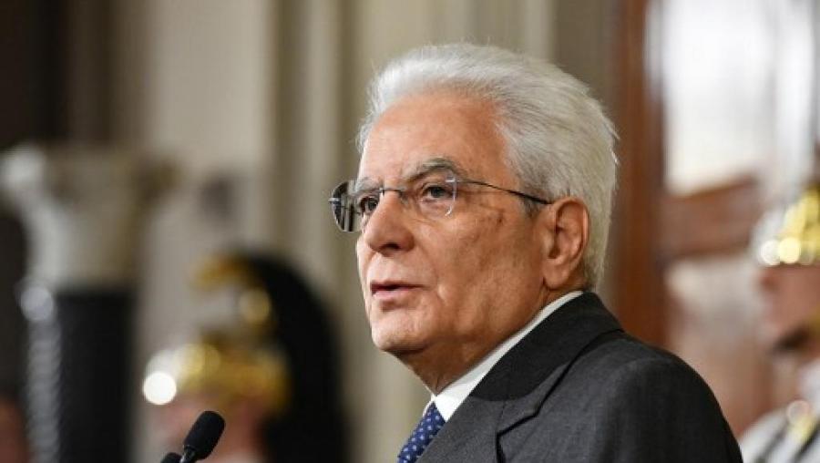 Italie Président Mattarella 000_iz6bp_0