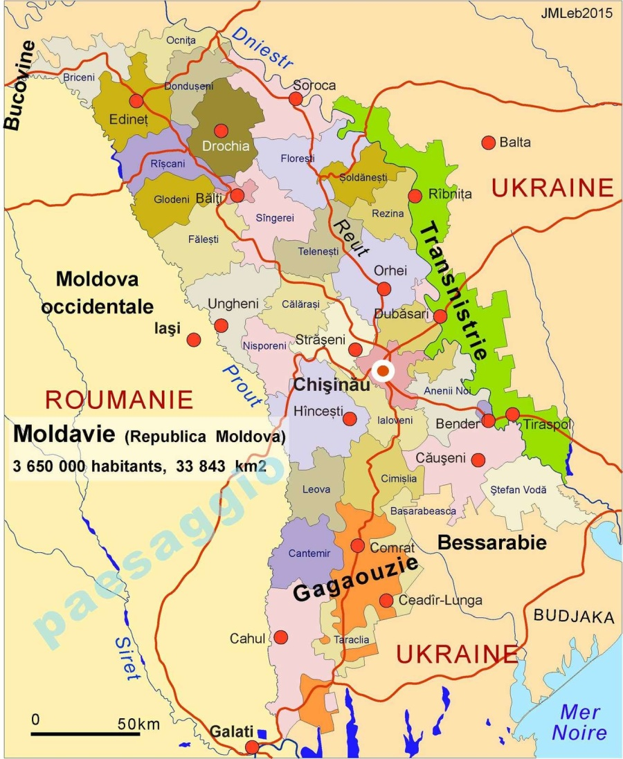 MOLDAVIE Carte de la Moldavie pour francophones ob_6b3072_moldavie