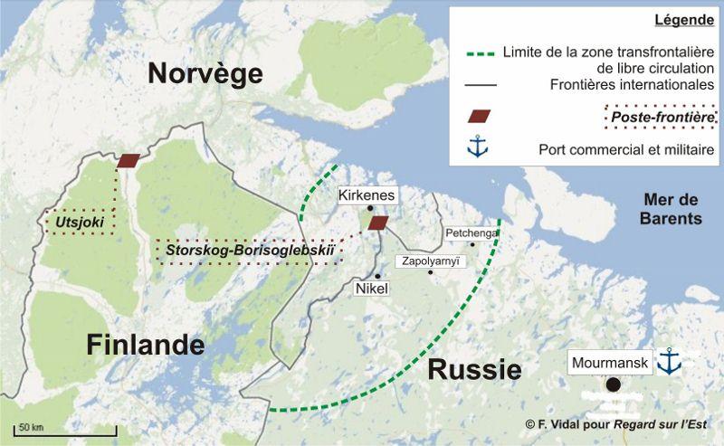 norvege russie frontière VIDAL
