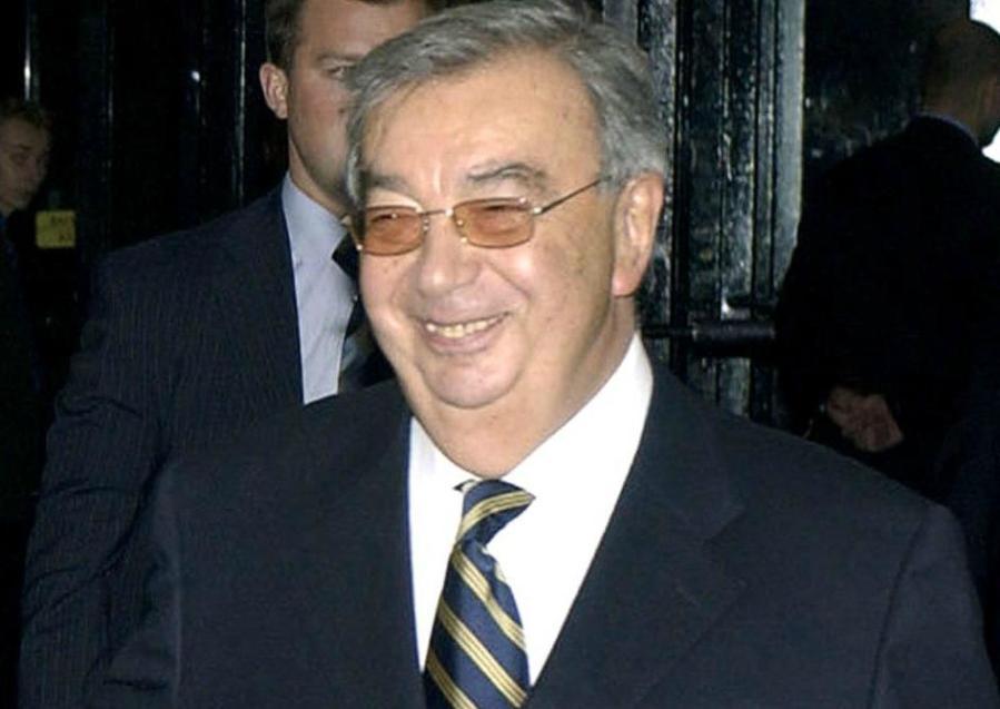 RUSSIE Evguéni Primakov en 2004 à Moscou primakov