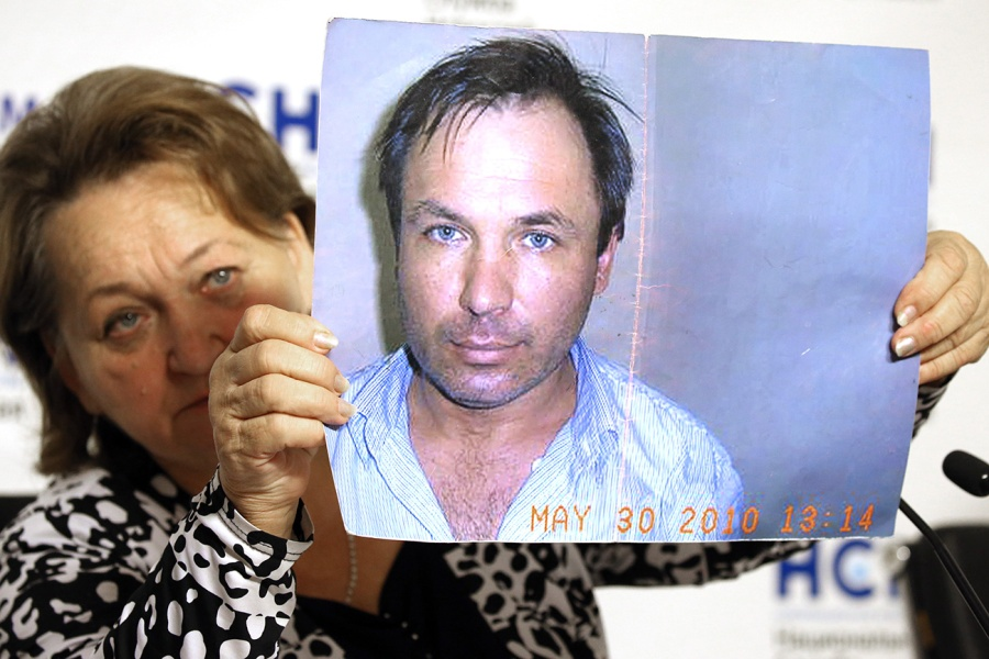 Family of Russian pilot Konstantin Yaroshenko jailed in USA give press conference