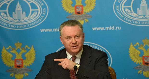 RUSSIE PORTE PAROLE DU Ministre-russe-des-affaires-étrangères Alexandre Loukachevitch