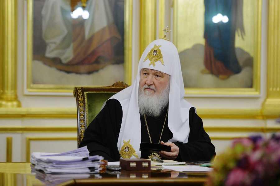 RUSSIE Sa Sainteté le patriarche Cyrille de Moscou et de toute la Russie detail20180307-PAL_0783-обр