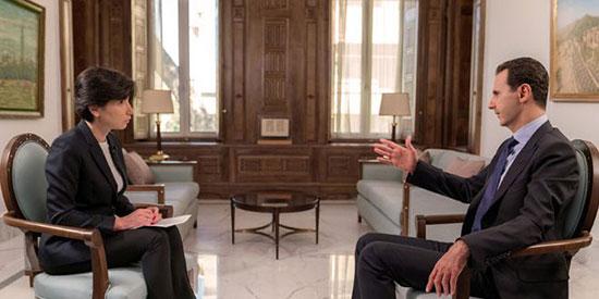 SYRIE bachar-asad INTERVIEWER PAR NTV 26.06.2018