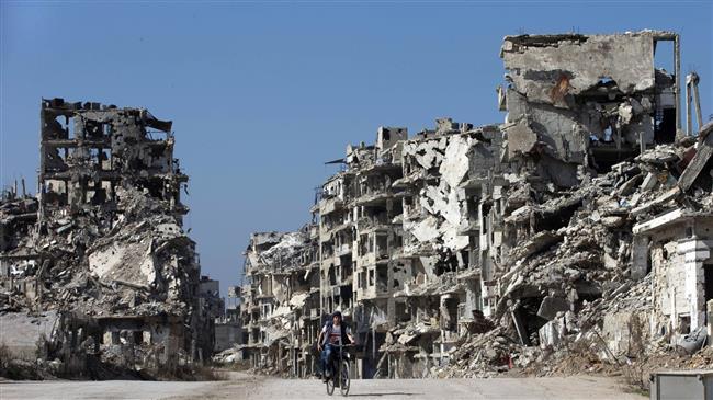 SYRIE L'Occident n'est pas autorisée à prendre part à la reconstruction de la Syrie.©AP 99895cd5-dff0-42b9-bb7c-9a23f3371a51