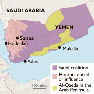 yemen Hodeidah, le port de la mer Rouge map20180613