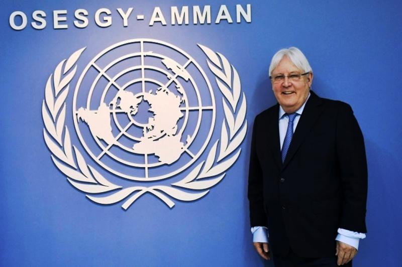 Yemen L_envoyé spécial de l_ONU pour le Yémen, Martin Griffiths ,n82942535-72387633