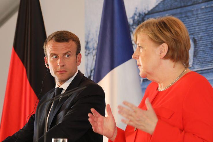 allemagne france 19 juin 2018 en Allemagne entre Angela Merkel et Emmanuel Macron 738_000_1685mb