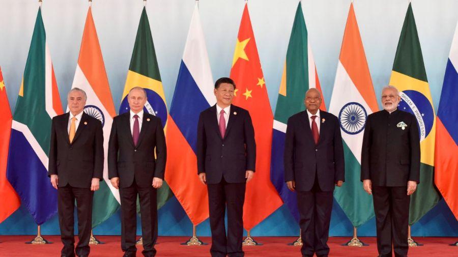 brics Le 9ème sommet des BRICS, qui s'est tenu en 2017 à Xiamen (sud-est de la Chine). - © BELGA-AFP5cd208534f2a3037bdf1792e83e2078c-1532451203