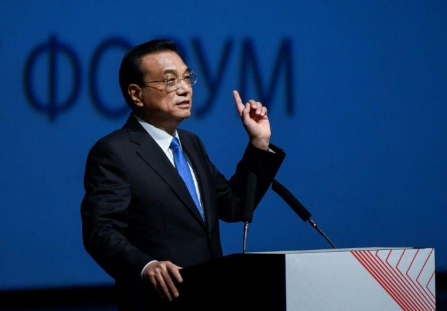 CHINE 1138068-le-premier-ministre-chinois-li-keqiang-lors-du-sommet-des-161-le-7-juillet-2018-a-sofia-en-bulgarie
