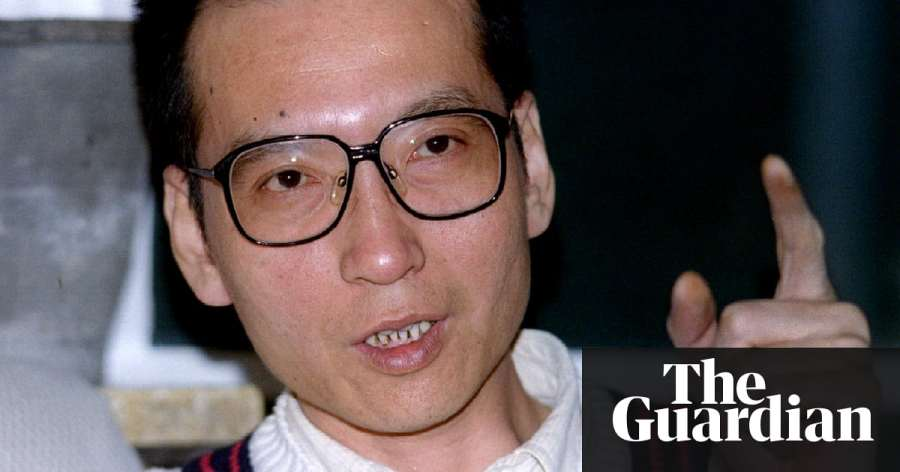 chine Liu Xiaobo in 1995. He dedicated his Nobel prize to the martyrs of Tiananmen Square1999