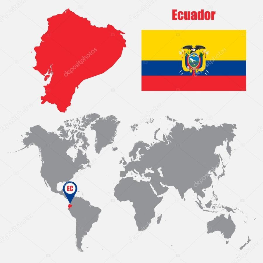 equateur depositphotos_121525552-stock-illustration-ecuador-map-on-a-world