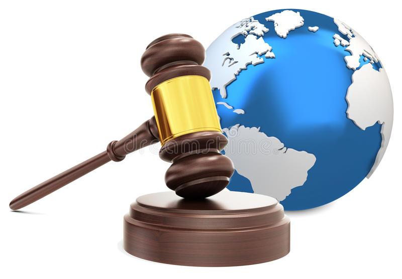 EXTRATERRITORIALITE martelo-de-madeira-do-juiz-d-com-globo-da-terra-63775597