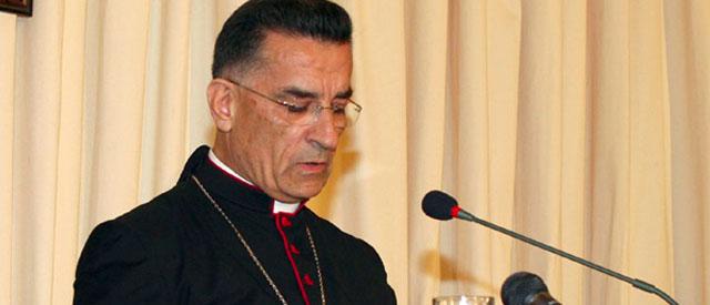 liban Cardinal Béchara Boutros Raï, Patriarche d'Antioche et de tout l'Orient pour les Maronitesbishop-al-rahi