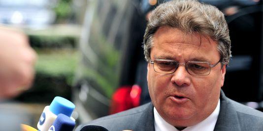 LITUANIE le Ministre lituanien des Affaires étrangères Linas Linkevičius 4475 591_3_db0f_le-ministre-des-affaires-etrangeres-lituanien_175a73898446540e7894954918dff7b8