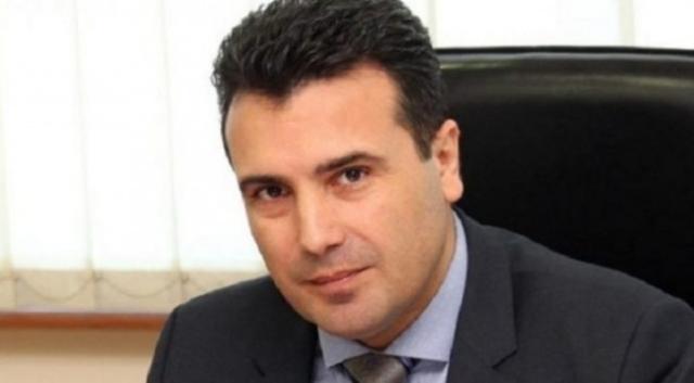 MACEDOINE Le Premier ministre macédonien, Zoran Zaev, lors d'une conférence de presse Zoran-Zaev-650x358
