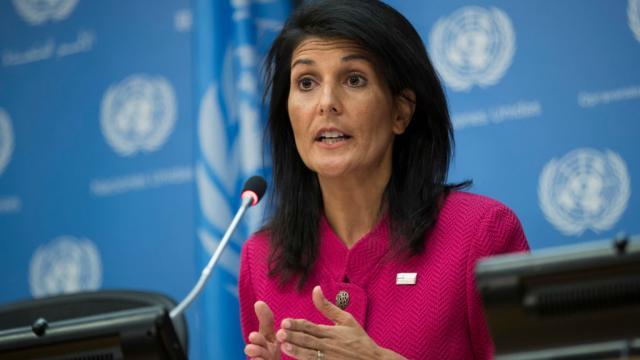 ONU USA Nikki Haley gettyimages-664196368