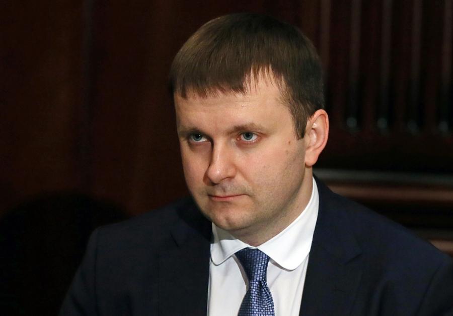 RUSSIE le ministre russe de l'Economie, Maxime Orechkine.maxim_oreshkin_rian_02983484_b