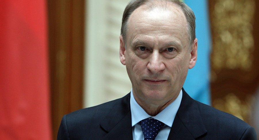 RUSSIE le secrétaire du Conseil de sécurité russe Nikolaï Patrouchev 1029596394
