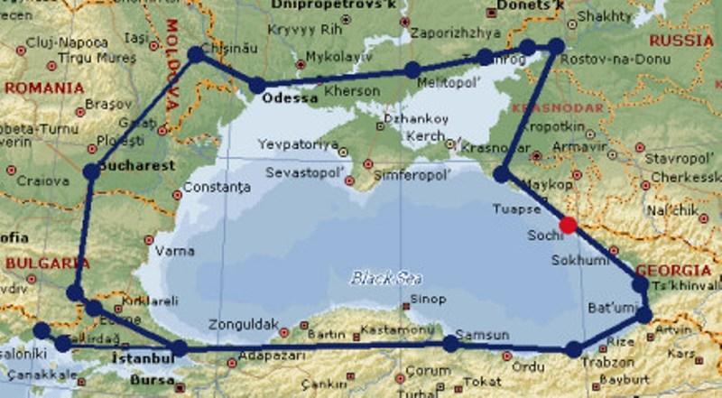 russie mer noire la région de la mer Noire et à assurer le consensus entre les États concernés.harta