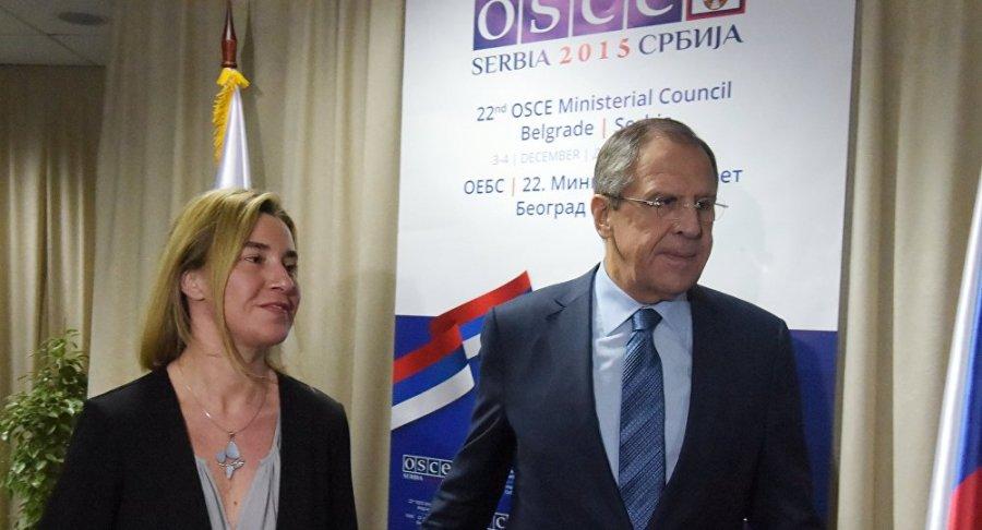 RUSSIE UE Federica Mogherini, LAVROV 1020021779