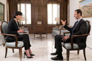 SYRIE 3 ---President-al-Assad-Interview-2-300x199
