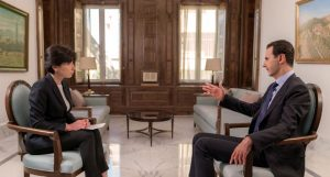 SYRIE 5 --- President-al-Assad-Interview-6-300x161